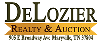 DeLozier Realty & Auction Logo